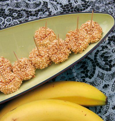 Bananen im Amaranthmantel