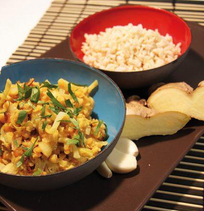 Kokos-Linsen-Curry