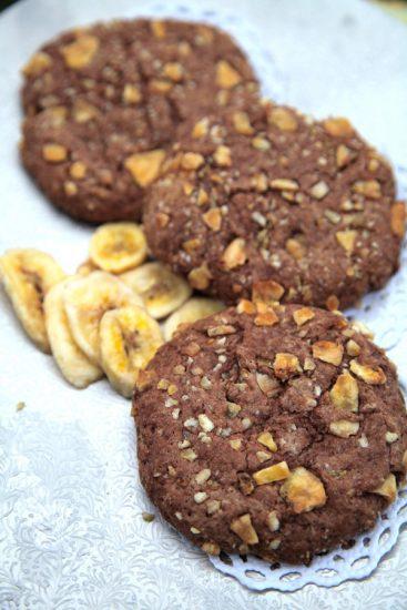 Schoko-Bananen-Cookies