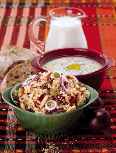 Quinoasalat mit Radicchio