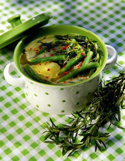 Grüne-Bohnen-Eintopf
