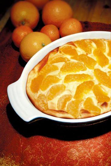 Orangensoufflé