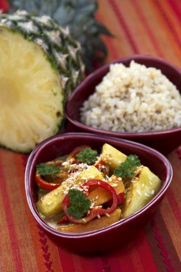 Ananas-Süßkartoffel-Curry