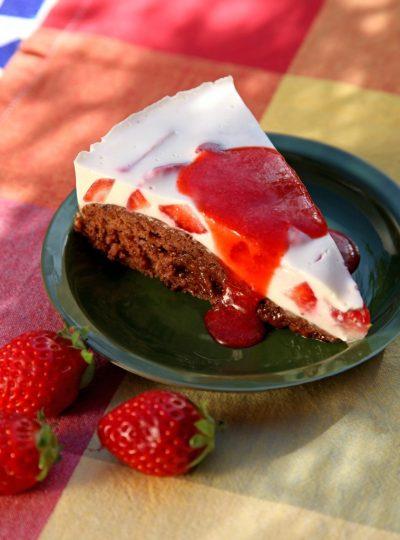 Panna-cotta-Torte