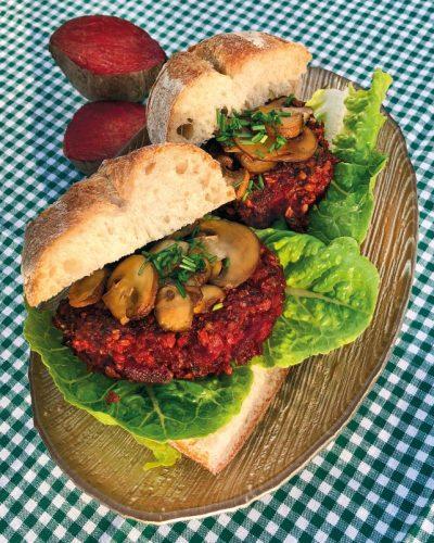 Rote-Bete-Burger