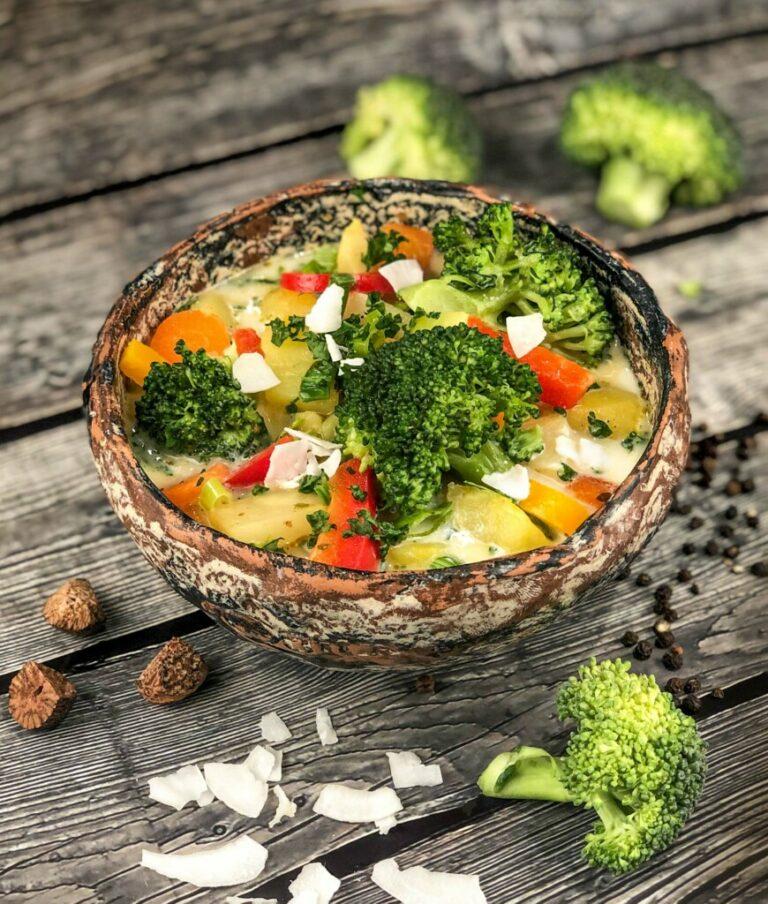 Brokkoli-Kokos-Topf